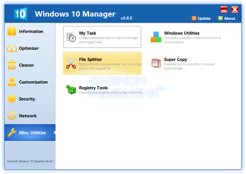 Windows 10 Manager – The Most Recommended Tweaking Tool