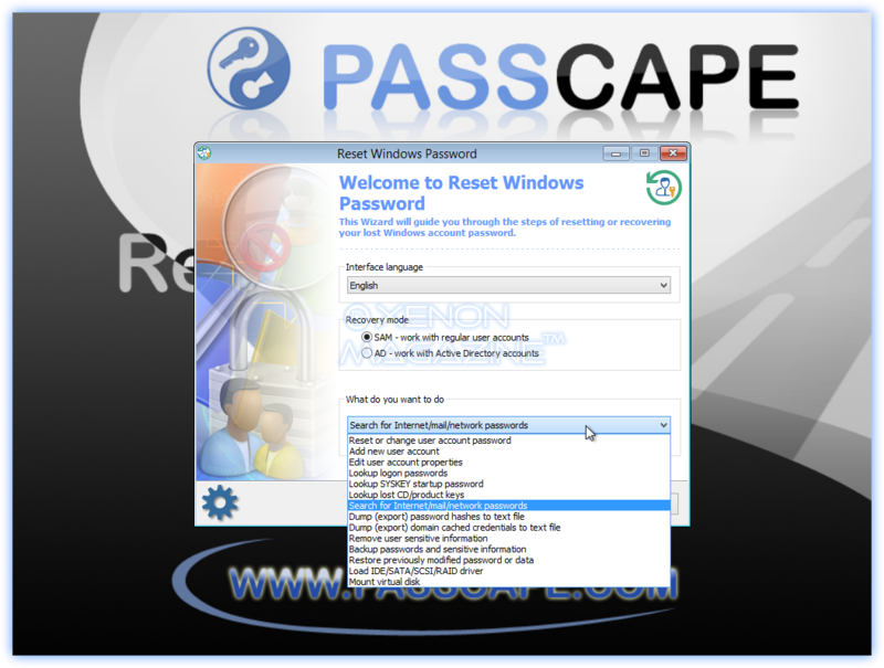 passcape para windows 10